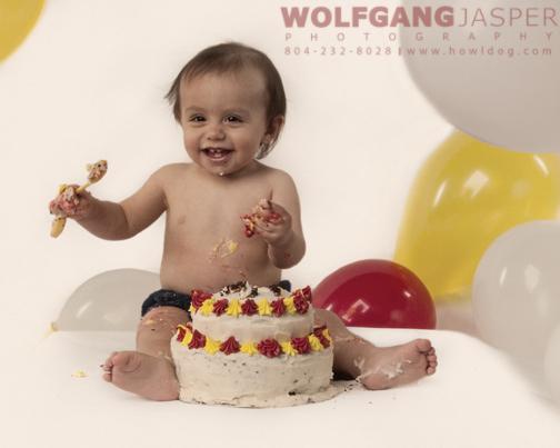 Wondrous Baby Portraits First Birthday Birthday Cake Richmond Virginia Personalised Birthday Cards Beptaeletsinfo